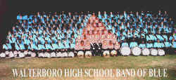 Walterboro High School Band of Blue 1999 - Songs of Sailor and Sea