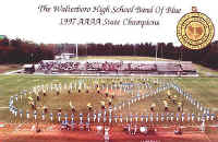 Walterboro High School Band of Blue -1997 South Carolina AAAA State Marching Band Champions - Espiritu del Tora